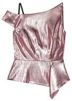 Roland Mouret Holmas silk and wool-blend peplum top