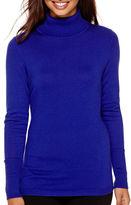 WORTHINGTON Worthington Long-Sleeve Turtleneck Sweater