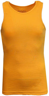 Galaxy By Harvic Men Famous Heavyweight Ribbed Tank Top