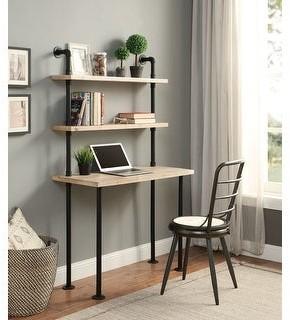 Carbon Loft Kenzari Wall Bookcase and Desk