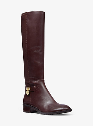 Michael Kors Hamilton Stretch Leather Boot