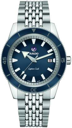 Rado Captain Cook Automatic Blue Dial Stainless Steel Bracelet Watch