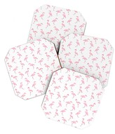 DENY Designs Fantastic Flamingos Coasters - Set of 4