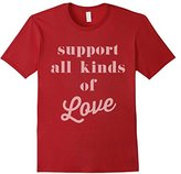 Hybrid Support all Love T-Shirt