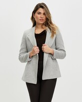 Thumbnail for your product : David Lawrence Women's Grey Coats - Micaela Coat - Size One Size, 14 at The Iconic