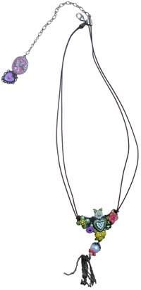 Les Nereides Multicolour Metal Necklaces