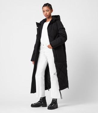 AllSaints Lucie Ramskull Puffer Coat