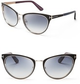Tom Ford Nina Sunglasses, 56mm