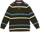E-Land Kids Forest Night Stripe Polo - Toddler & Boys