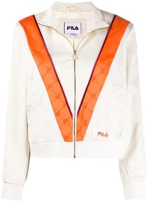 Fila Halle satin track jacket