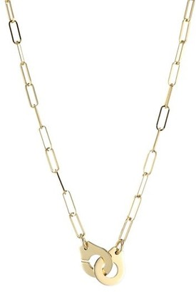 Dinh Van Menottes 18K Yellow Gold Chain Necklace