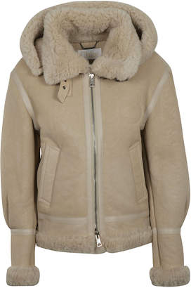 Chloé Fur Zipped Jacket