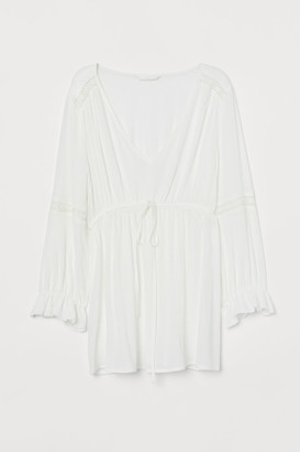 H&M MAMA Viscose blouse with lace