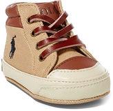 Ralph Lauren Boy Geffron Mid Sneaker