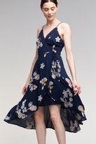 J.o.a. Esther Wrap Maxi Dress, Navy