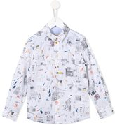 Paul Smith sketch print shirt