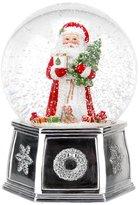 Spode Christmas Tree Santa Musical Snow Globe