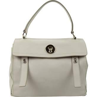 Saint Laurent Muse Two Grey Leather Handbags