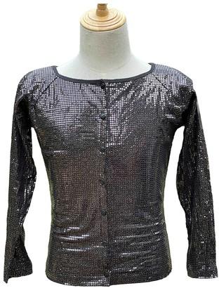 Krizia Black Cotton Top for Women Vintage