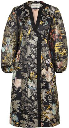 Etro Metallic Jacquard Coat