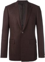 Givenchy patterned button front blazer - men - Cotton/Polyester/Viscose/Wool - 46