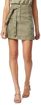 Habitual Vidal Cotton Belted Utility Skirt