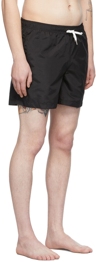 Thumbnail for your product : Bather Black Solid Swim Shorts