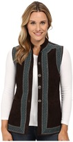 Scully Liza Premium Ultra Soft Suede Vest