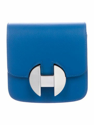 Hermes Evercolor 2002 Wallet Blue