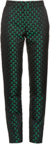Mary Katrantzou Agate high-rise jacquard trousers