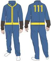 Bioworld Fallout 111 Mens Union Suit