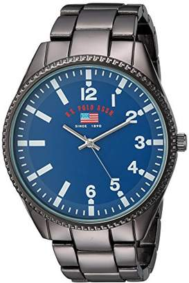 U.S. Polo Assn. Men's Analog-Quartz Watch with Alloy Strap