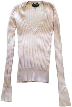 Dolce & Gabbana Pink Cashmere Knitwear
