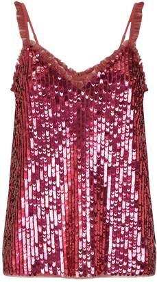 Needle & Thread Scarlett Sequin Cami Top