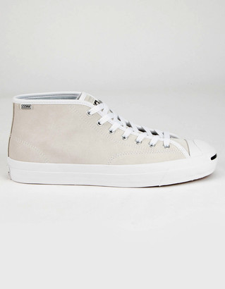 Converse Jack Purcell Mid Mens White Shoes