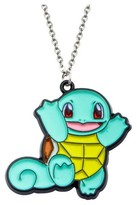 "Pokemon Squirtle Stainless Steel and Enamel Pendant with Chain (18"" + 2"" ext.)"