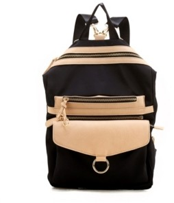 Like Dreams Relaxed Dual Color Scheme Backpack