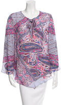 Rory Beca Parakeet Printed Top w/ Tags