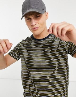 Selected Patrick stripe o-neck t-shirt
