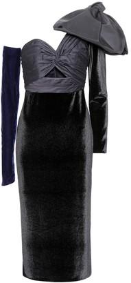Johanna Ortiz Malaguena velvet dress