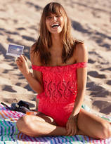 aerie Off-The-Shoulder One Piece Swimsuit