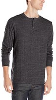 Threads 4 Thought Men's Double Faced Long Sleeve Henley