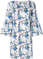 L'Autre Chose parrot print dress