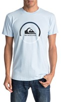 Quiksilver Men's Active Logo Graphic T-Shirt