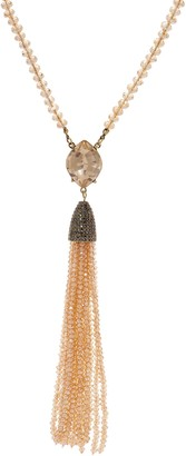 """Joan Rivers Classics Collection Joan Rivers Private Collection Ltd. Ed. Crystal 29"""" Tassel Necklace"""