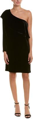 Nicole Miller Silk-Blend Sheath Dress