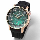Vostok Europe Vostok-Europe Anchar Men's Automatic 24J Diver Watch Rose Gold with Green Pearl Dial NH35A/5109248