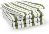 Williams-Sonoma Williams Sonoma Classic Striped Dishcloths, Moss