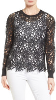 Halogen Lace Pullover