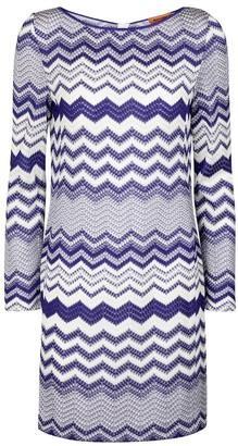 Missoni Zigzag knit minidress